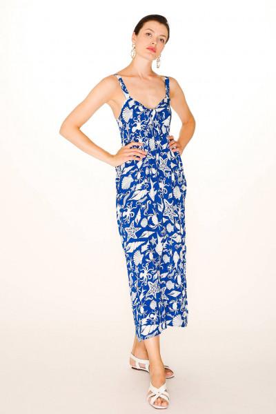 MAXI DRESS SEALIFE Azul