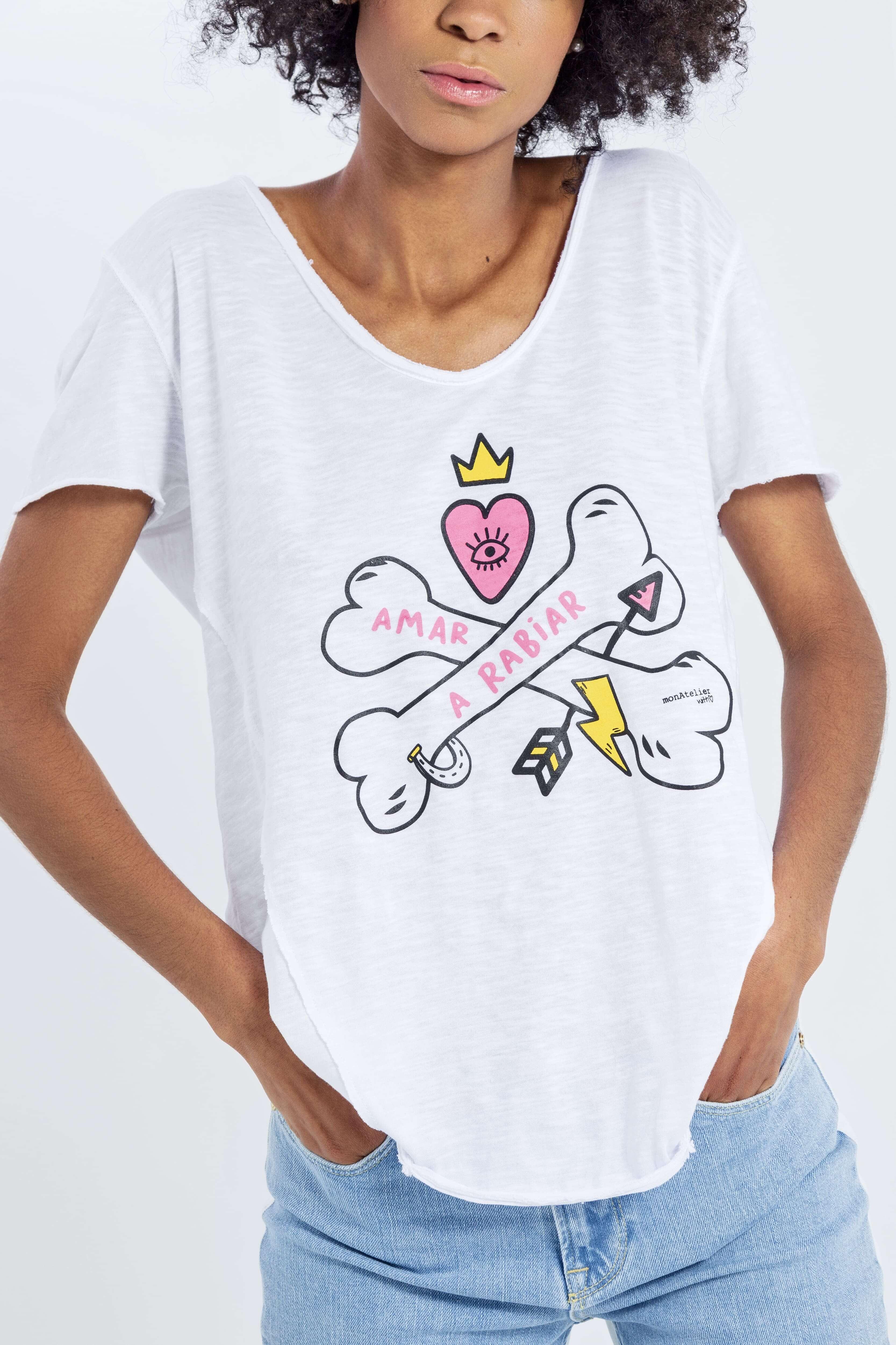 Camiseta Amar a Rabiar